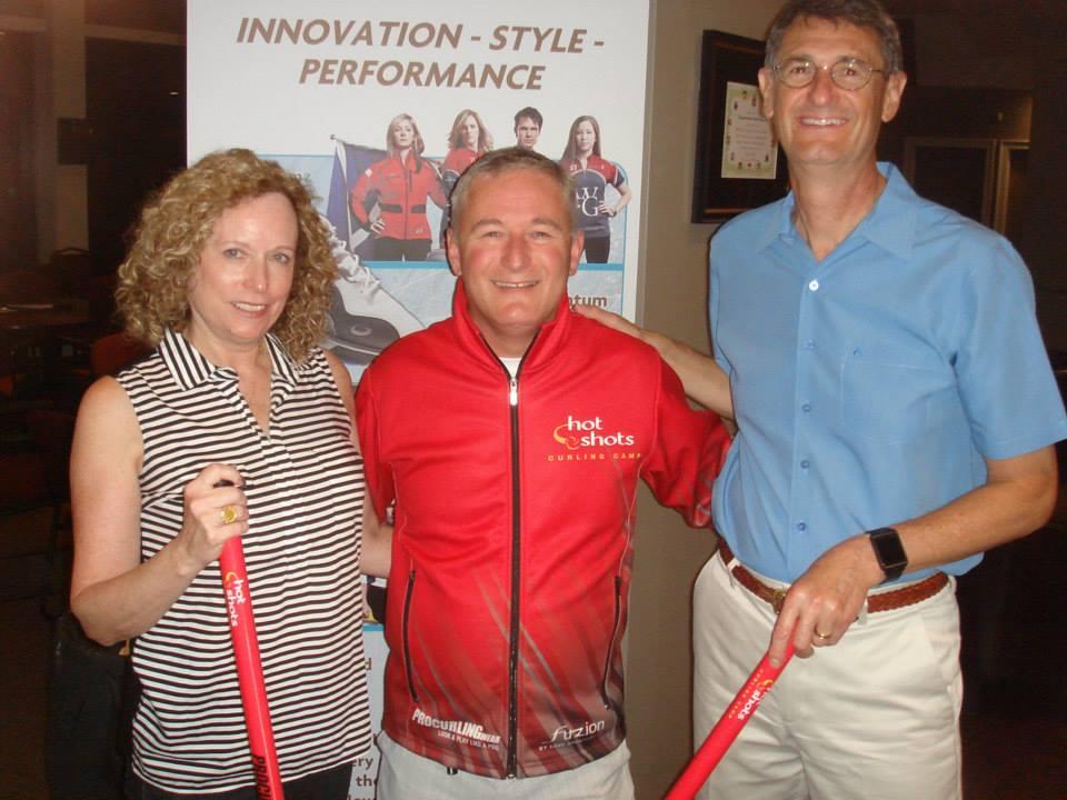 Pat O Reid Award Winners - Hot Shots Curling Camp