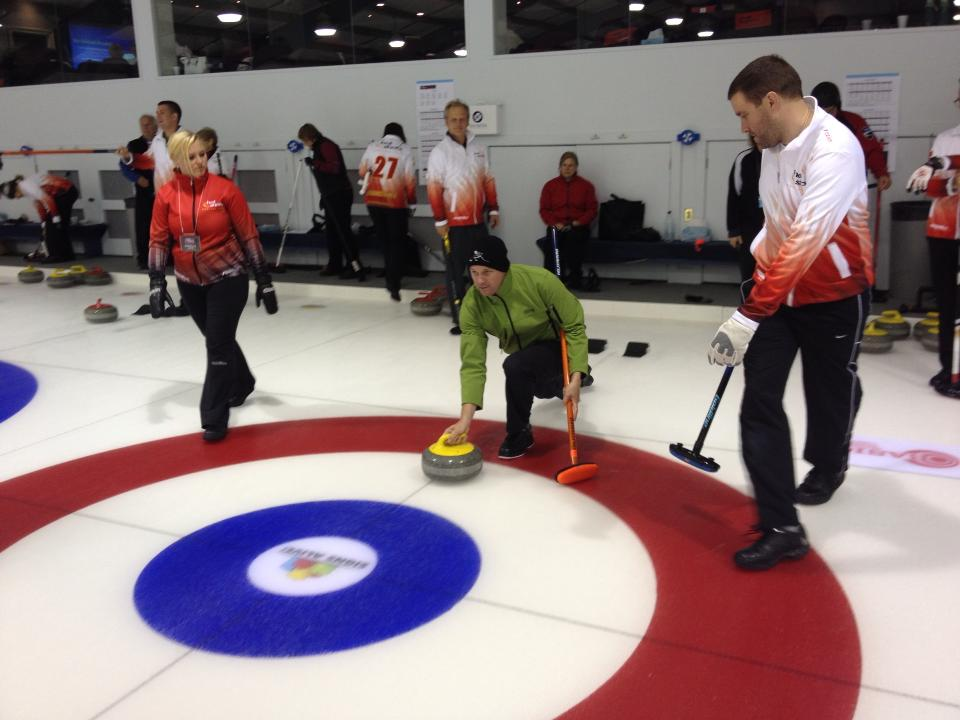 Line of Delivery - Hot Shots Curling Camp