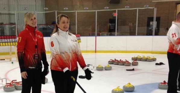 Joraandstad and Camper- Hot Shots Curling Camp