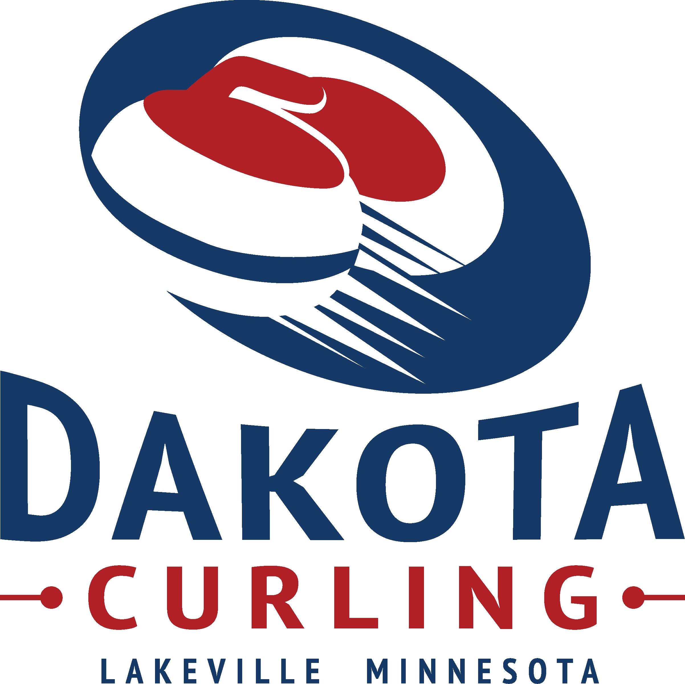 Dakota Curling Logo - Hot Shots Curling Camp