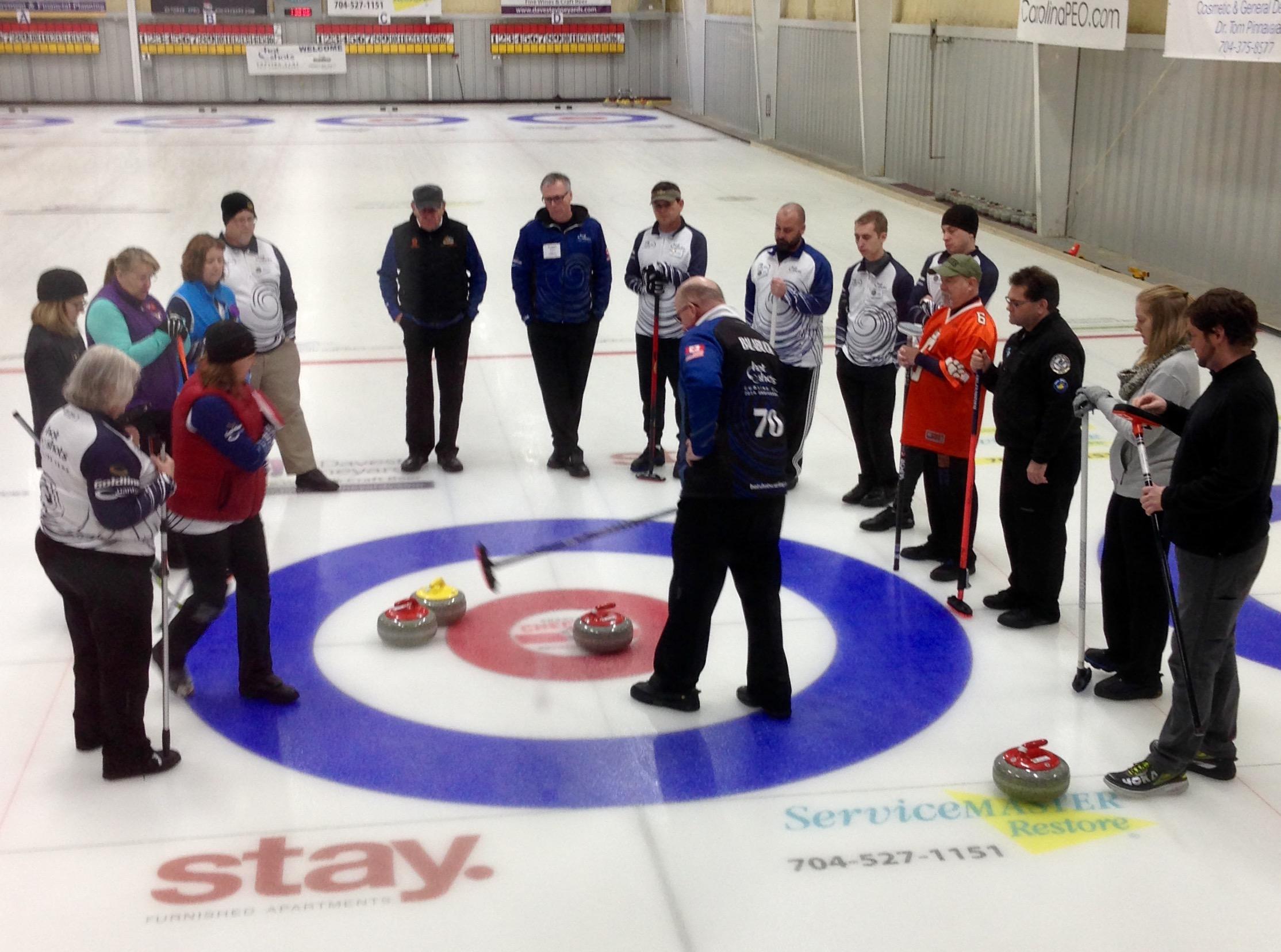 Secret of Angles - Hot Shots Curling Camp