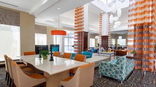 Lobby - Hilton Garden Inn - Hot Shots Curling Camp