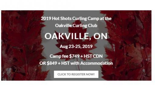 Oakvill August 23_25 Hotshot Curling Camp